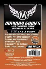 Mayday Games Premium Card Sleeves (50 pack) (57.5 x 89mm)