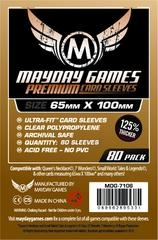 Mayday Games Premium Card Sleeves (80 pack) (65 x 100mm)