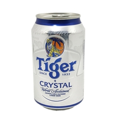 Bia TIGER CRYSTAL bạc 330ml