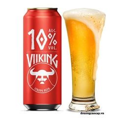 Bia Viiking Strong Beer 10% – Lon 500ml
