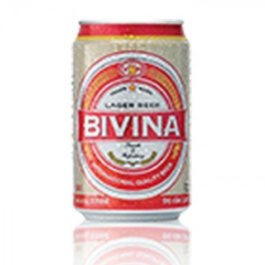 Bia Bivina Export lon 330ml