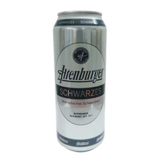 Bia Altenburger Schwarzes 4.9% – lon 500ml