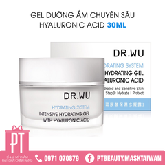 Gel cấp ẩm Dr.Wu Intensive Hydrating Gel With Hyaluronic Acid 30ml