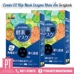 COMBO MASK KHÓA ẨM ENZYME SEXYLOOK (2 hộp)