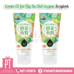 COMBO GEL TẨY DA CHẾT ENZYME SEXYLOOK (2 tuýp)