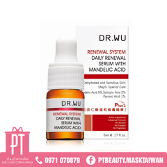 Serum tái tạo da Dr.Wu Daily Renewal Serum With Mandelic Acid 5ml