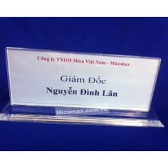 Kệ chức danh mica KCD-0910