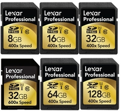 Lexar Media 133x SDHC 16GB và 32GB High-Quality Images and HD Video