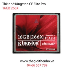 Thẻ nhớ Kingston CF Ultimate 16GB 266x 40MB/s