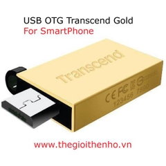 USB OTG Transcend 16GB Gold 2.0