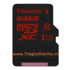 Thẻ nhớ Kingston Micro SDXC 64GB 90/80 MB/s