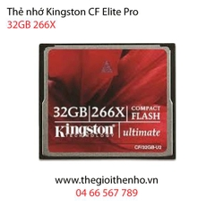 Thẻ nhớ Kingston CF Ultimate 32GB 266x 40MB/s