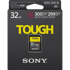 Thẻ nhớ Sony SDHC 32GB SF-G series TOUGH UHS-II V90 U3 300MB/s