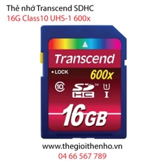 Thẻ nhớ Transcend SDHC 16 GB Class 10 UHS-I 600x (Ultimate)