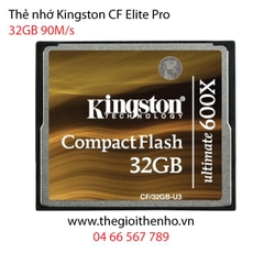 Thẻ nhớ Kingston CF Ultimate 32GB 600x 90MB/s