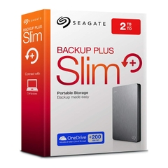 Ổ Cứng Di Động HDD 2TB Portable SEAGATE Backup Plus Slim