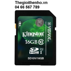 Thẻ nhớ Kingston SDHC 16GB class 10 UHS-I