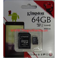 Thẻ nhớ Kingston Micro SDXC 64GB 80MB/s
