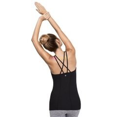 Áo tập yoga Manduka New Cross Strap Cami - Black