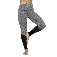 Quần tập yoga Manduka The High Line - Dunes Jacquard