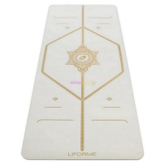 Thảm tập yoga White Magic Liforme