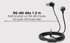 Tai nghe nhét tai SONY MDR-EX15APWZE Wired