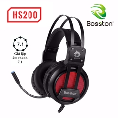 Tai Nghe Game ốp tai Bosston 7.1 HS200-LED Wired