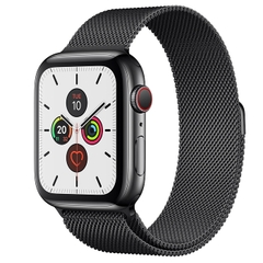 AppleWatch Series 5 (GPS+LTE) Thép