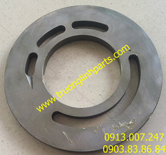 VALVE PLATE PVD22 of hydraulic pump Kayaba, Excavator MS110-5/8, MS120/140, SK05…