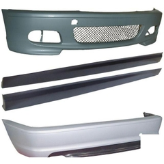 BMW E46 4DR (98-05) - M-TECH BODYKIT