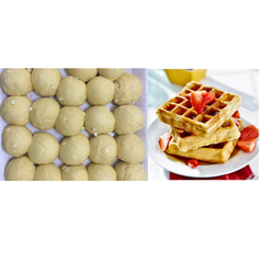 Belgian waffle 73g (5 ps/pack)