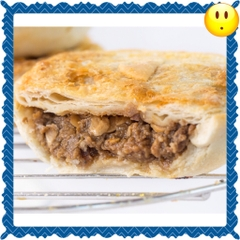 Cracked Pepper Meat Pie ( No cheese)