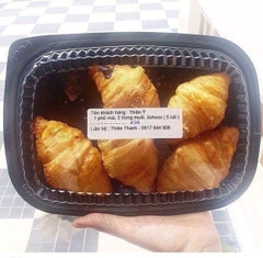 Salted Duck Egg Croissant - Croissant Trứng Muối 45g (20 boxes)