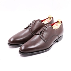 PLAIN TOE DERBY BROWN