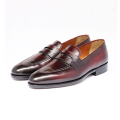 PENNY LOAFER - PATINA BURGUNDY