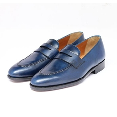 PENNY LOAFER - PATINA BLUE