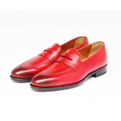 PENNY LOAFER - PATINA RED