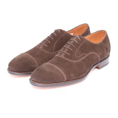 CAP TOE OXFORD SUEDE