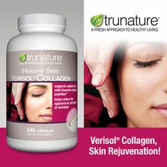 Collagen hỗ trợ da Trunature Healthy Skin Verisol Collagen 240 viên
