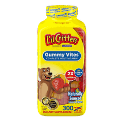 Kẹo dẻo bổ sung Vitamin L'il Critters Gummy Vites complete Naturally Sourced 300 viên