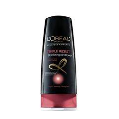 Dầu xả Loreal Paris Triple Resist Reinforcing Conditioner 375ml