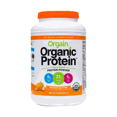 Bột Protein Organic Protein Peanut Butter 1.2kg