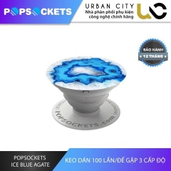 PopSockets Ice Blue Agate