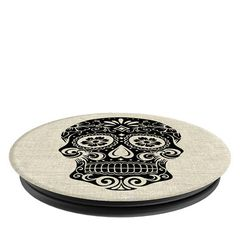 PopSockets Sugarskull on Linen