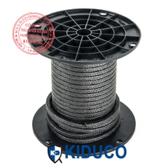 Dây chèn kín bơm van piston KIDUCO Pure Graphite PTFE Packing with Oil