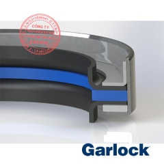 Garlock Oil Seals Klozure Model 61 High-Pressure PTFE Lip Seal Dual Opposed