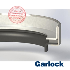 Garlock Oil Seals Klozure Model 61 High-Pressure PTFE Lip Seal Reverse
