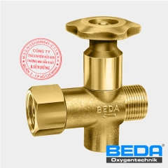 BEDA Oxygen Hand-Valve at the Lance