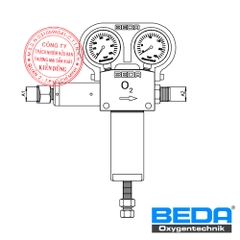 BEDA Oxygen Pressure Regulator (DMX) Drawing