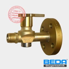 BEDA Shut-off Valve at Oxygen Supply-line with Flange